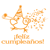 ¡felíz cupleaños! = happy birthday!