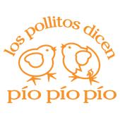 los pollitos dicen pío pío pío = baby chicks say peep peep peep